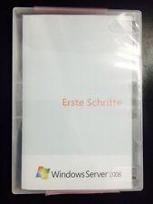 Windows Server 2008 Standard 32 und 64 Bit, 5 CAL, Deutsch mit MwSt Rechnung