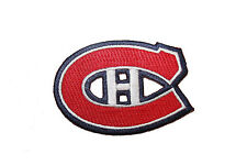 MONTREAL CANADIENS NHL LOGO IRON-ON PATCH CREST BADGE 3 X 2 INCHES ..NEW