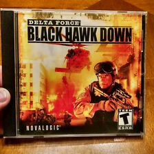 Delta Force: Black Hawk Down (PC Game, 2003) Nostalgic Games Shooter Military