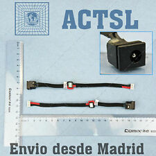 CONECTOR DC POWER JACK para Toshiba Satellite C655 (With Cable)