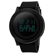CIVO Men's Digital Military Sports Watch Big Face Business Casual Waterproof