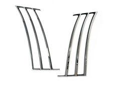2010-2015 Camaro Chrome Quarter Panel Fender Trim Shark Gills Stripes Inserts