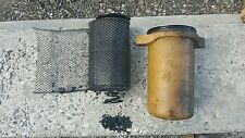 Old vintage cummins motor engine oil filter housing hs NHS-6-1F iron lung 220