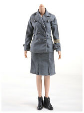 1/6 Scale DML full uniform of World War II soldiers female clothing  figure toy