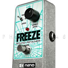 Electro-Harmonix Freeze Sound Retainer/Sustain Guitar Effects Pedal - NEW