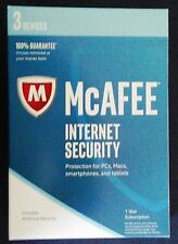 McAfee Internet Security 2017, 3 Devices - 1Year Activation Key