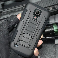 HEAVY DUTY RUGGED Shockproof Hard Case Cover for Samsung Galaxy S4 mini i9190