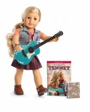 Newest American Girl Doll TENNEY GRANT NEW in Box with Guitar Accessories & Book