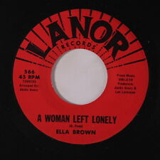 ELLA BROWN: A Woman Left Lonely / Touch Me 45 Soul