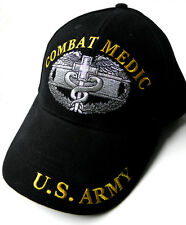 COMBAT MEDIC US ARMY EMBROIDERED BASEBALL CAP HAT