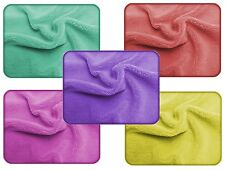 5x MICROFIBRE CLOTHS/CAR SEATS/INTERIOR/POLISHING/BUFFING/DUST CLEANING/FREE P&P
