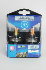 Paquete De 2 X H7 Xenon Headlight Bulbs cabeza lámparas Set Brillante Mega Blanco 12V 55W