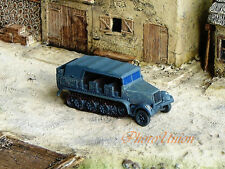 NMT 426x WW2 1:144 Scale Wargame Diorama German SdKfz 7 Half Track Vehicle Model