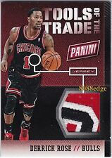 2014 PANINI THE NATIONAL TOOLS OF TRADE 3CL PATCH: DERRICK ROSE #25/25 PRIME 1/1
