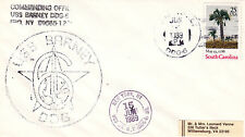 GUIDED MISSILE DESTROYER USS BARNEY DDG 6 A SHIPS CACHED COVER DATED 1989