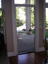 "Retractable Screen Door fits up to 84"" tall Door (Custom Built)"