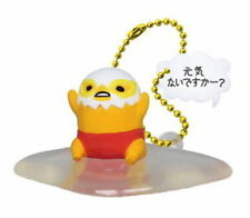 Gudetama Swing Mascot PVC Keychain Lazy Egg Figure ~ Genki How are you #C @83918