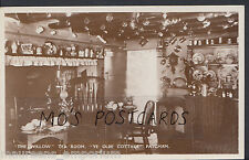 "Sussex Postcard - ""The Willow"" Tea Room, Ye Olde Cottage, Patcham   MB2019"