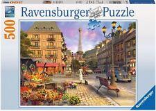 RAVENSBURGER*PUZZLE*500 TEILE*SPAZIERGANG DURCH PARIS*OVP