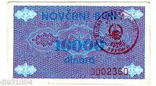 Bosnie BOSNIA Billet 10000 DINARA ND ( 1992 ) NOVCANI BON ISSUE P52 BON ETAT