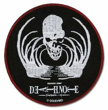 Death Note Skull Embroidered Iron On/Sew On Patch Shonen Jump Licensed Product