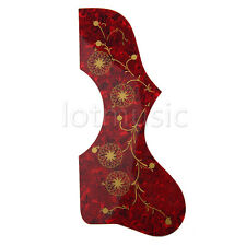 Acoustic Guitar Tortoise Pickguard Pick Guard Tortoise Red For Gibson J200 SJ200
