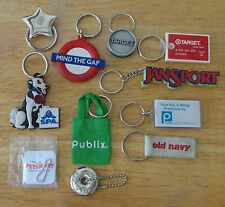 ADVERTISING STORE KEY CHAIN LOT publix target gap jansport big dog old navy mall