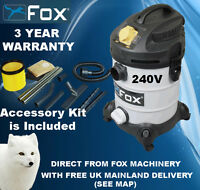 Woodworking Woodturning Fox F50-800 Dust Extractor 240V IN STOCK