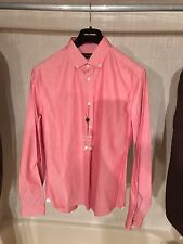 Louis Vuitton Pink Button-Down Shirt with Small LV on Chest Size LV XXL