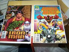 The invincible iron man 4 x-mas variant cover 1997 Marvel Action Hour 1 1994 C