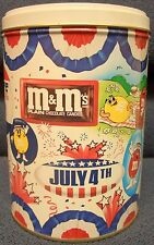 M&M's July 4th Tin, 1988