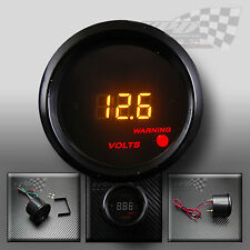 LED DIGITAL VOLT GAUGE 52mm