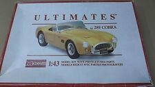 Cobra 289  , Bausatz , Ultimates. 1/43  ,  MONOGRAM