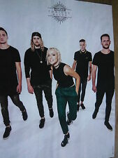 TONIGHT ALIVE - MAGAZINE CUTTING (FULL PAGE PHOTO) (REF X8)
