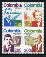 Colombia 1081, MNH, Famous People Pumarejo Villegas de Santos 1993. x23405