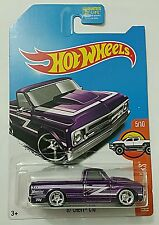 Hot Wheels 2017 New Super Treasure Hunt '67 Chevy C10 Truck -Limited Carded-