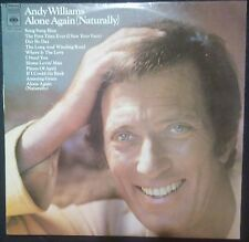 ANDY WILLIAMS - ALONE AGAIN (NATURALLY) VINYL LP AUSTRALIA