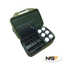 NGT FOLDING CARP FISHING TACKLE SYSTEM STORAGE CASE GLUG POTS/ BIVVY TABLE 912
