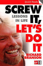 Screw It, Let's Do It: Lessons In Life (Quick Read),GO