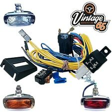 Classic Car Import Fog Light Spot Lamp 12v Switch Relay Fused Wiring Kit  Loom