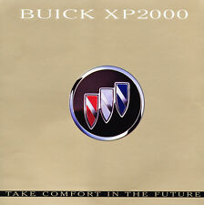 2000 Buick XP2000 Concept Showcar Original Car Sales Brochure Catalog