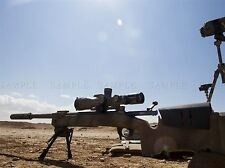 WAR ARMY HARDWARE DESERT SUN SIGHT SHOOT M40A5 SNIPER RIFLE PRINT BB3369A