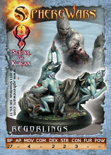 Sphere Wars Regorlings Scions of Kurgan metal miniature new