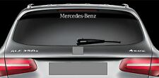 Rear Window Sticker fits Mercedes Benz Vinyl Decal Emblem Sticker Logo RW48