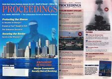 US Navy PROCEEDINGS Magazine Oct 2008 Securing Our Border Send in the Marines?