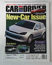 CAR DRIVER AUTOMOTIVE MAGAZINE 1999 OCTOBER FORD FOCUS R TURBO CELICA GTS TT