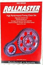 TIMING CHAIN KIT LS1 GEN3 CHEV/HOLDEN V8 ROLLMASTER DOUBLE ROW MULTI KEYWAY