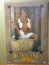 Heartland heartbreakers vintage Oginal Hot girl western man cave Poster 1993 600