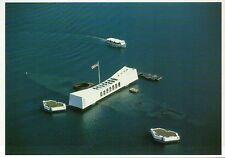 USS Arizona Memorial Pearl Harbor Hawaii, World War II, Battleship --- Postcard
