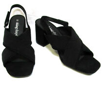 sz 11/42 TS TAKING SHAPE Emma Block Heel Sandal black slingback shoes NIB rp$150